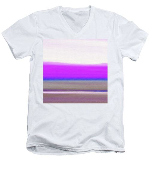 Abstract Sunset 65 Men's V-Neck T-Shirt