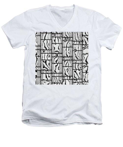 Abstritecture 18 Men's V-Neck T-Shirt