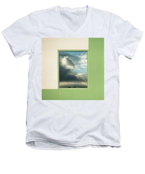 Abstritecture 19 Men's V-Neck T-Shirt