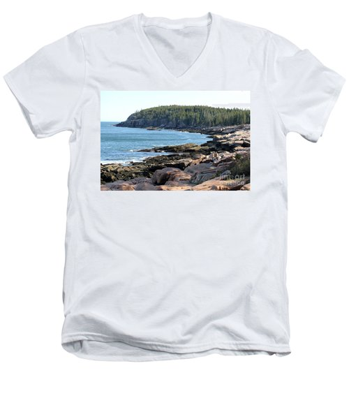 Acadia Cove Men's V-Neck T-Shirt