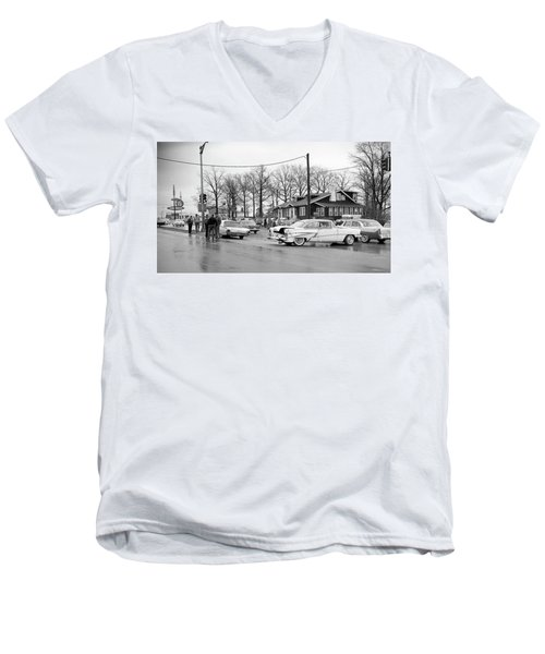 Accident 1 Men's V-Neck T-Shirt