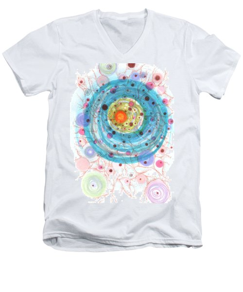 Accretion Men's V-Neck T-Shirt