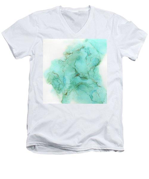 Across The Blue Sky Men's V-Neck T-Shirt