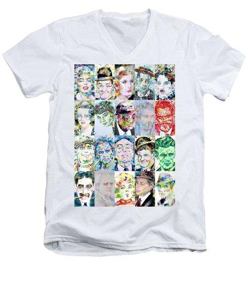 Actors And Directors Men's V-Neck T-Shirt