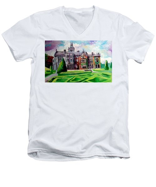 Adare Manor Co Limerck Ireland Men's V-Neck T-Shirt