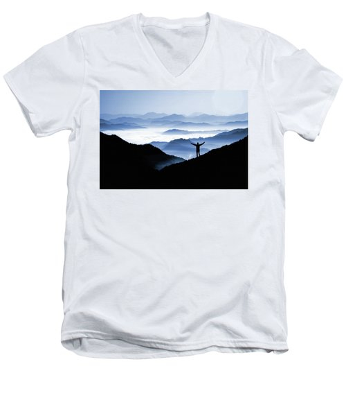 Adoration Of Natural Beauty Men's V-Neck T-Shirt