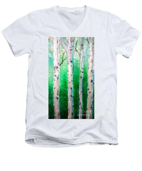 Aspen Grove Men's V-Neck T-Shirt