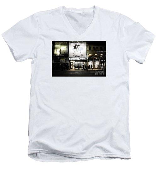 Advertising  Men's V-Neck T-Shirt