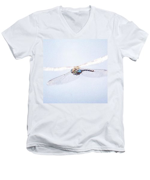 Aeshna Juncea - Common Hawker In Men's V-Neck T-Shirt