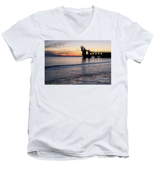After Sunset Blackrock 2 Men's V-Neck T-Shirt