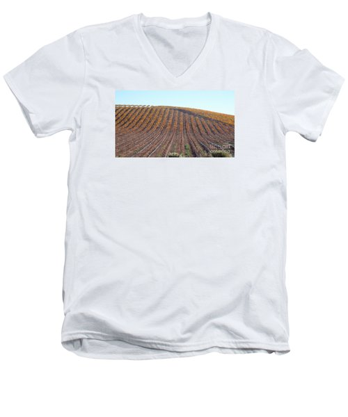 After The Harvest Men's V-Neck T-Shirt