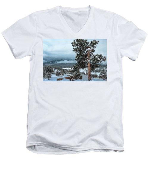 After The Snow - 0629 Men's V-Neck T-Shirt
