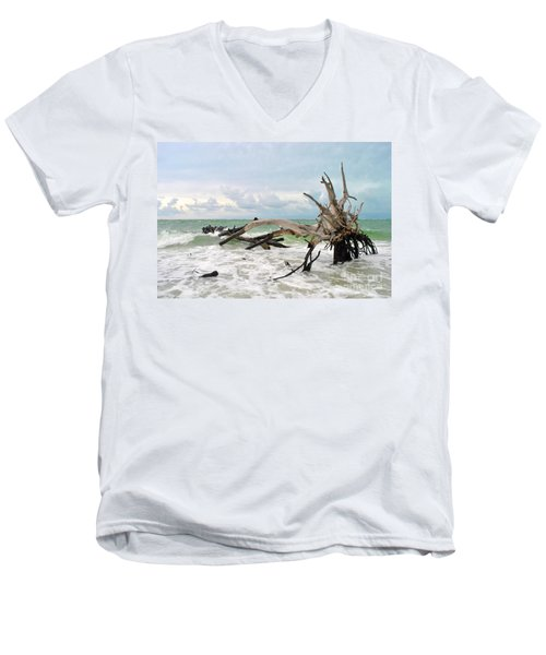 After The Storm Men's V-Neck T-Shirt by Margie Amberge