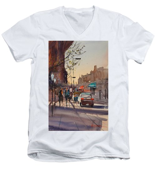 Afternoon Light Men's V-Neck T-Shirt