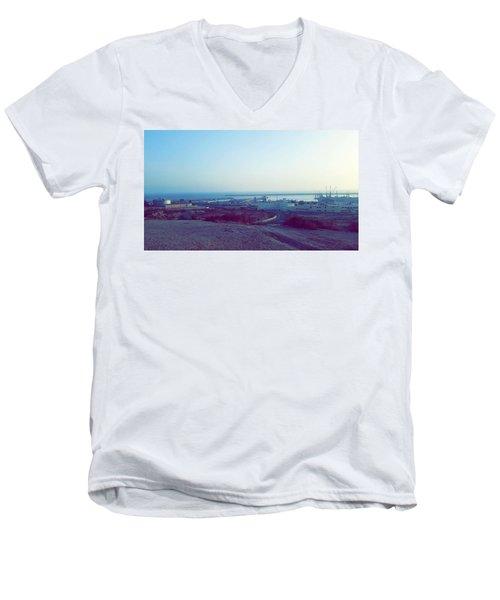 Agadir Nature Men's V-Neck T-Shirt