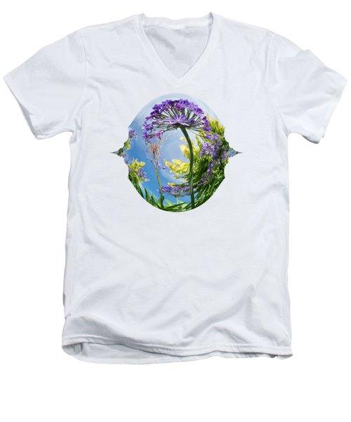Agapanthus Dance Men's V-Neck T-Shirt