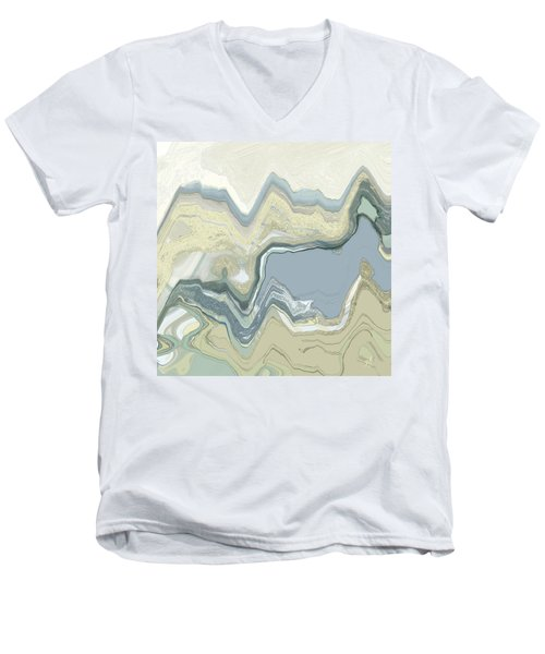 Agate Men's V-Neck T-Shirt