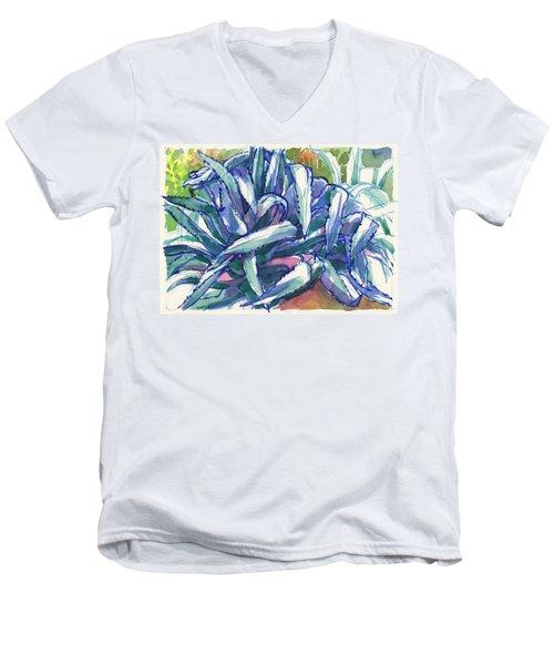 Agave Tangle Men's V-Neck T-Shirt