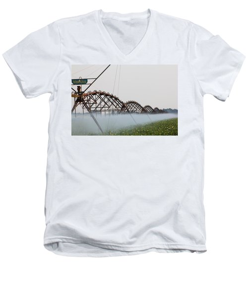 Agriculture - Irrigation 3 Men's V-Neck T-Shirt