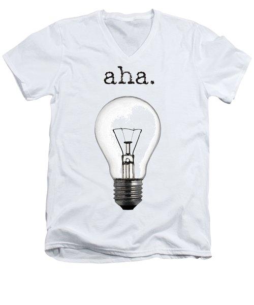 Aha Moment Men's V-Neck T-Shirt