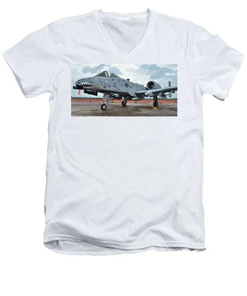 Aim High Men's V-Neck T-Shirt