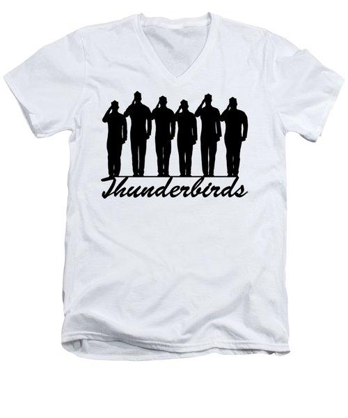 Air Force Thunderbirds Men's V-Neck T-Shirt