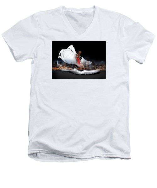 Air Jordan Chicago Men's V-Neck T-Shirt