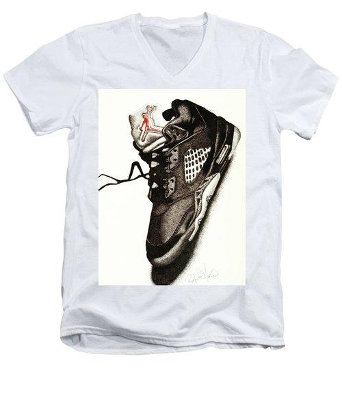 Air Jordan Men's V-Neck T-Shirt