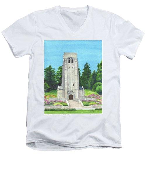 Aisne-marne American Cemetery Men's V-Neck T-Shirt