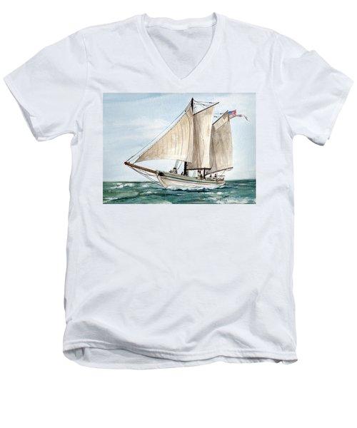 Aj Meerwald  Men's V-Neck T-Shirt