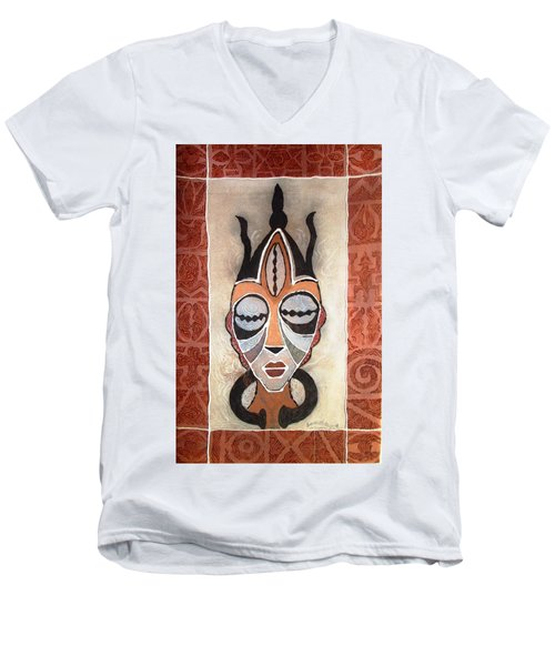 Aje Mask Men's V-Neck T-Shirt