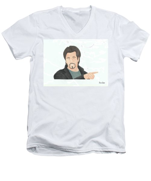 Al Pacino Men's V-Neck T-Shirt