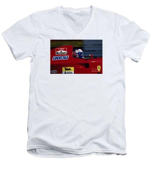 Alain Prost. 1990 French Grand Prix Men's V-Neck T-Shirt