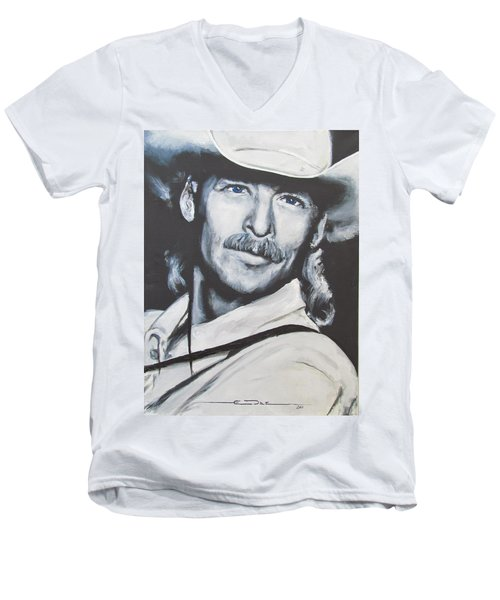 Alan Jackson - In The Real World Men's V-Neck T-Shirt