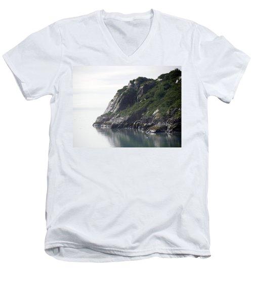 Alaska Coast Men's V-Neck T-Shirt