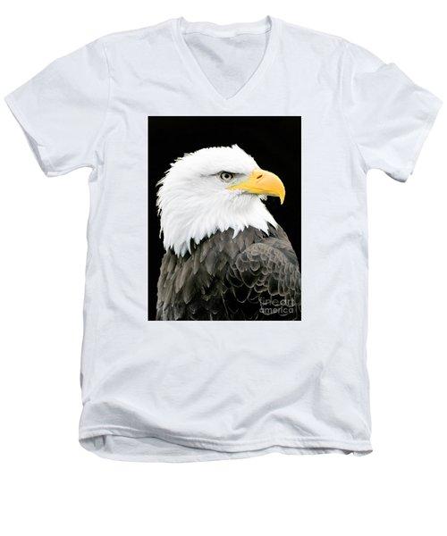 Alaskan Bald Eagle Men's V-Neck T-Shirt