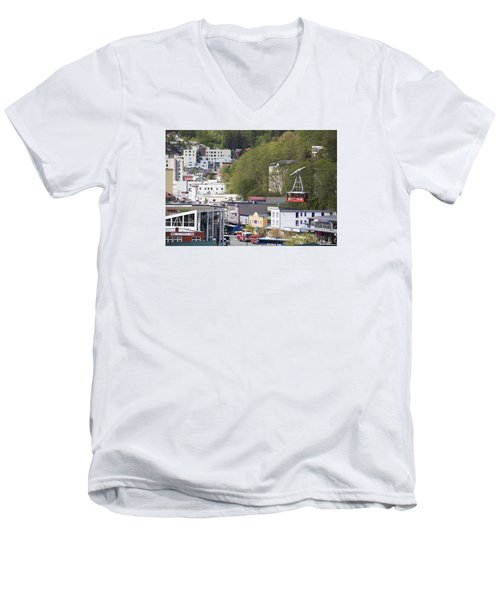 Alaskan Transportation Men's V-Neck T-Shirt