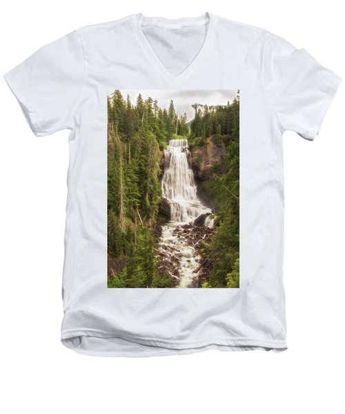 Alexander Falls Men's V-Neck T-Shirt