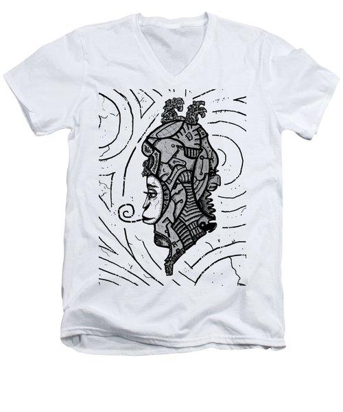 Alien Woman Men's V-Neck T-Shirt
