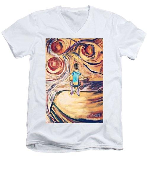 All Around Me Men's V-Neck T-Shirt