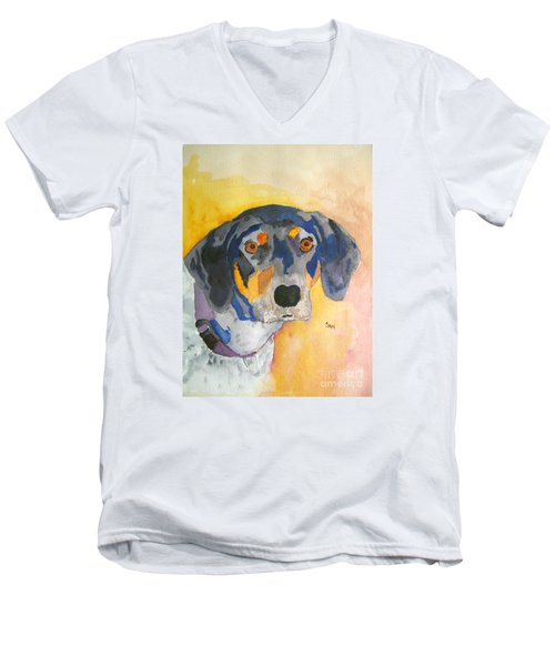 All Ears Men's V-Neck T-Shirt by Sandy McIntire