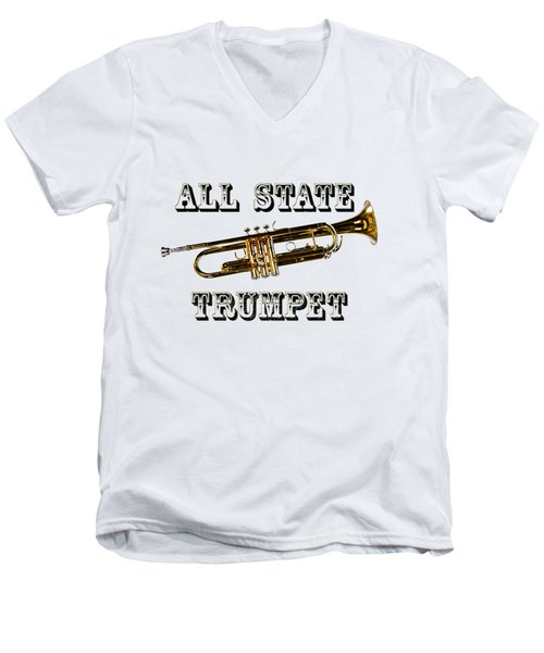 All State Trumpet Men's V-Neck T-Shirt