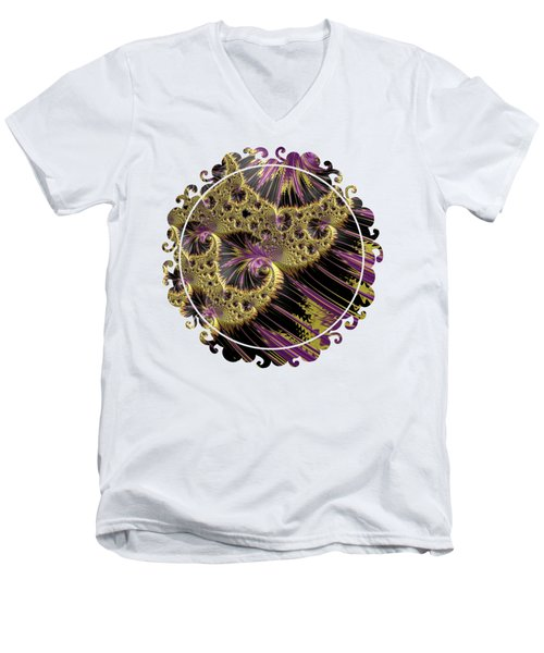 All That Glitters Men's V-Neck T-Shirt