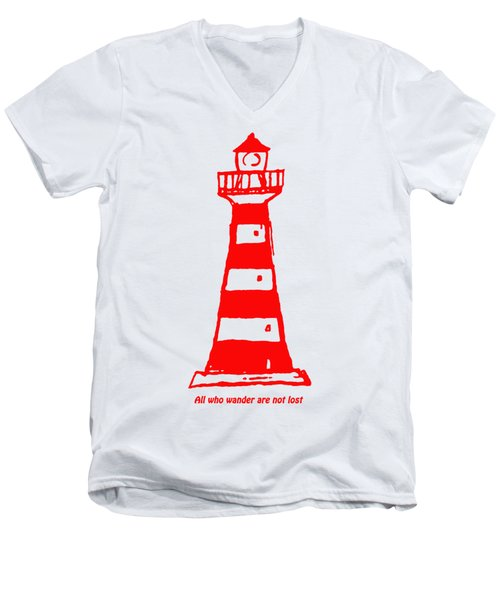 All Who Wander Men's V-Neck T-Shirt