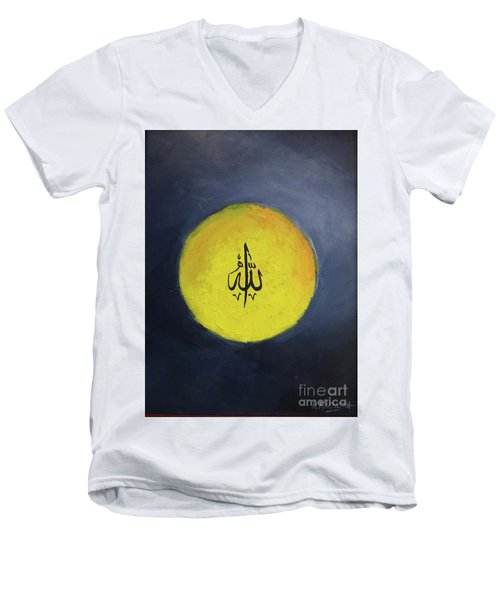 Allah-3 Men's V-Neck T-Shirt