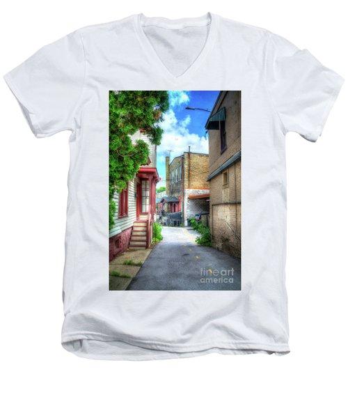 Alleyway Men's V-Neck T-Shirt