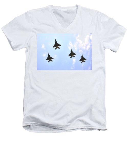 Allstate 400 Salute 21361 Men's V-Neck T-Shirt