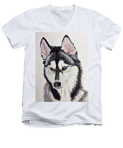 Almost Wild Men's V-Neck T-Shirt