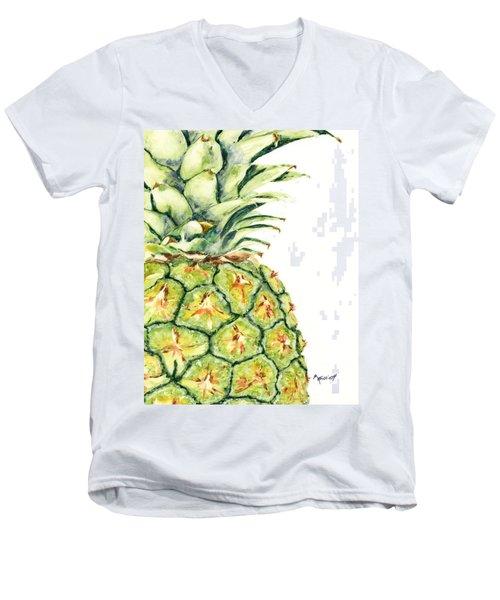Aloha Again Men's V-Neck T-Shirt