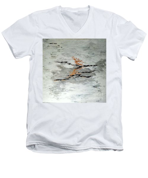 On The  Way Men's V-Neck T-Shirt
